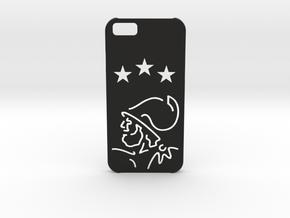 I-phone 6 Case: Ajax Amsterdam in Black Natural Versatile Plastic