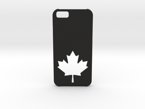 I-phone 6 Case: Canada in Black Natural Versatile Plastic