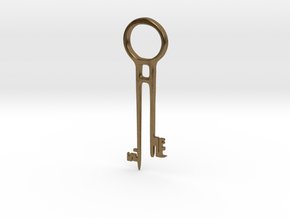 Davy Jones's Key in Natural Bronze