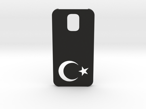 Samsung Galaxy S5 Case: Turkey in Black Natural Versatile Plastic