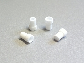 F3P Single motor contra - Front Bearing Holder in White Natural Versatile Plastic