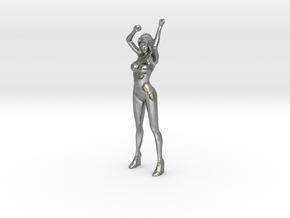 RacingGirl Stand 40mm in Natural Silver