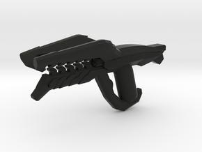 Drone Rifle in Black Natural Versatile Plastic