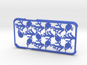 Bird iPhone6 case for 4.7inch in Blue Processed Versatile Plastic