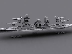 1/1800 IJN BB Mutsu[1941] in White Strong & Flexible