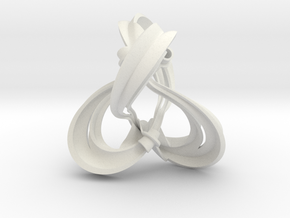 Figure 8 knot complement triangulation (0.8 scale) in White Strong & Flexible