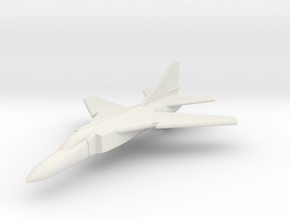 MiG-23FloggerGK with wings at combat sweep 1/285  in White Natural Versatile Plastic