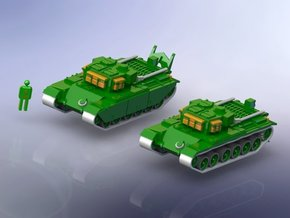 Centurion ARV Mk 1/200 Scale in Smooth Fine Detail Plastic