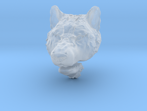 Pendant for ring(Wolf)2 in Smooth Fine Detail Plastic