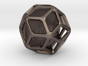 ZWOOKY Style 3402  -  Sphere in Polished Bronzed Silver Steel