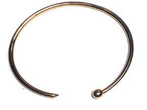 Serpent Bracelet - Small in 18K Gold Plated