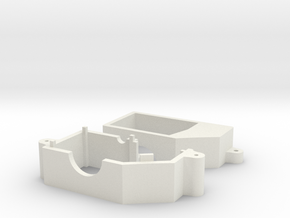 Losi 1/24 Micro Gear Case in White Natural Versatile Plastic