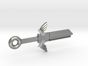 Zelda Master Sword House Key Blank - KW1/66 in Natural Silver