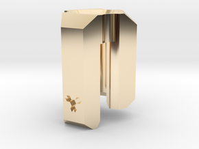 Lanyard Clip Bead - Large in 14K Yellow Gold