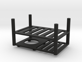 Quanum Trifecta two layer electronics platform in Black Strong & Flexible