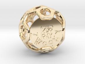 ZWOOKY Style 3409  -  Sphere in 14K Yellow Gold