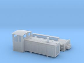 Feldbahnlok LKM Ns4f Spur 0e/0f 1:45 in Smooth Fine Detail Plastic