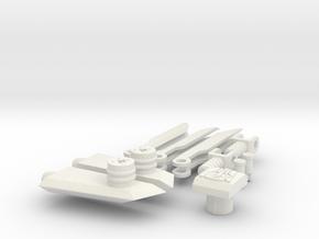 DOTM Voyager Skyhammer Assault Kit v2.0 in White Strong & Flexible
