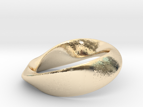 01-Mobius Ring No.13 in 14K Yellow Gold