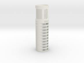 """All-in-1 CF8 / PC3.5 (v1) - 1.24"""" OD in White Natural Versatile Plastic"""