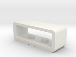 Lace For Wrist Strap Of Garmin Forerunner 310XT  in White Natural Versatile Plastic