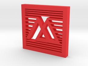 MuseAche! in Red Processed Versatile Plastic