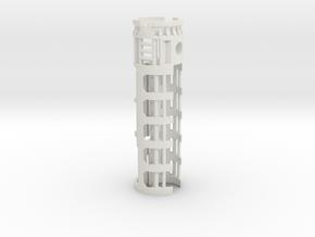 NB2-28mmVeco-1.10OD in White Natural Versatile Plastic