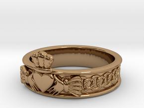 Keltic Designs MODEL Size 6 in Polished Brass