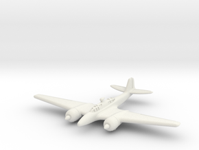 Kawasaki Ki-102 Randy 1/200 in White Natural Versatile Plastic