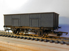 00 LNER ex GER Steel Bodied 20T Loco Coal Wagon in White Processed Versatile Plastic