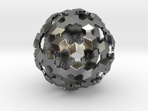 ZWOOKY Style 3423  -  Sphere in Fine Detail Polished Silver