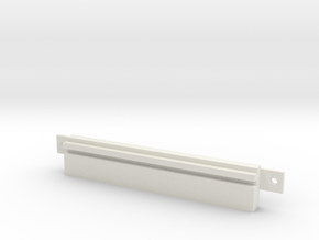 "Floppy Cover 3,5"" SMALL compatible to Amiga 4000 in White Natural Versatile Plastic"