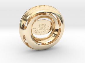 ZWOOKY Style 3431  -  Moebius in 14k Gold Plated Brass
