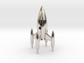 Royal Mann (King) - [1,0/1,1] Stellar in Rhodium Plated Brass