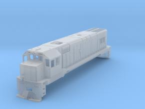 1:76 KIWIRAIL DBR Class No Sideframes Or Fuel Tank in Smooth Fine Detail Plastic