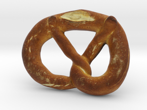 The Pretzel in Full Color Sandstone