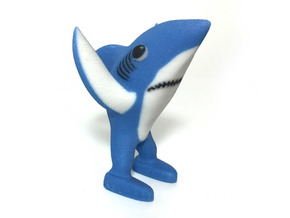 Left Shark in Full Color Sandstone