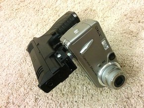 Universal Digital Camcorder Picatinny Mount Adapte in Black Natural Versatile Plastic
