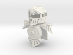 Minifig Locomotive Armor Set in White Strong & Flexible