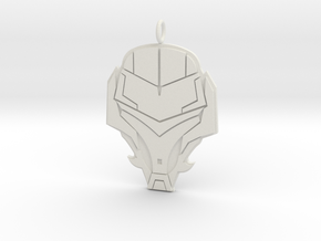 Stylish Soldiers Badge  in White Natural Versatile Plastic