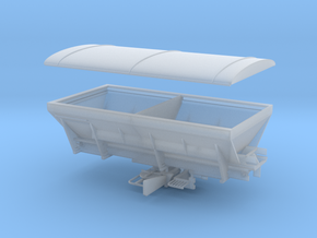 1/64 Spreader Bed in Smooth Fine Detail Plastic