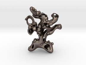 Treeofawesome in Polished Bronzed Silver Steel
