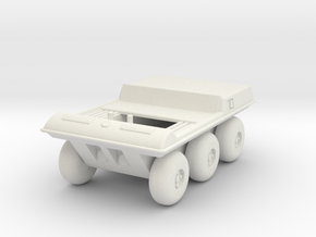 GV02 Two Seat Moon Buggy in White Strong & Flexible