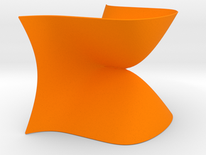 An A4 Singularity in Orange Strong & Flexible Polished