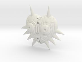 Majora's Mask HD model with Woodgrain detail in White Natural Versatile Plastic