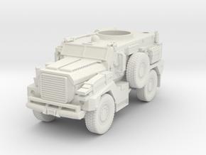 ~1/87 HO MRAP COUGAR in White Natural Versatile Plastic