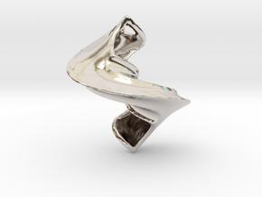 In-Spire in Rhodium Plated Brass