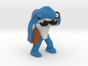 Left Shark Lawyer in Full Color Sandstone