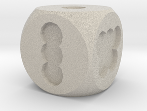Hole Die, Standard Size 16mm in Natural Sandstone