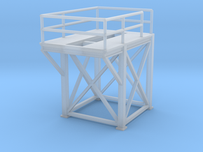 'N Scale' - 8'x8'x10' Tower Top in Smooth Fine Detail Plastic